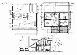 generalite construction d39une maison ossature bois With marvelous des plans pour maison 9 plan et photo de maison avec etage ossature bois par