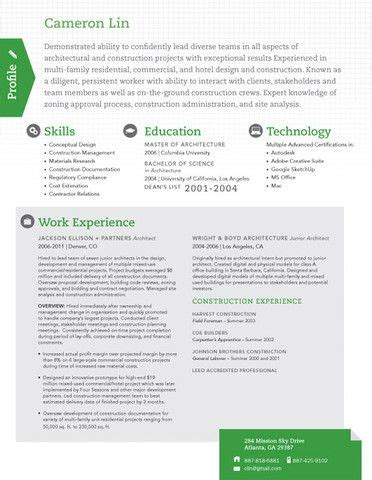16 best images about modern resumes on pinterest modern