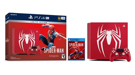 spider bundle edition limited ps4 playstation