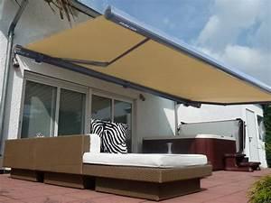 elektrische kassettenmarkise 600 x 300 cm grau gelenkarm With markise balkon mit tapete braun beige