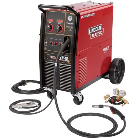 Lincoln Electric Power Mig 256 Flux-core