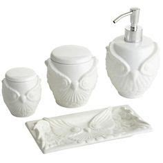 White Owl Bathroom Accessories by 1000 Images About Owl Goodness On Owl Cookie