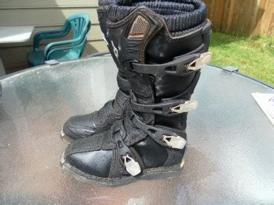 used kids motocross boots fox kids motocross boots size k3 used