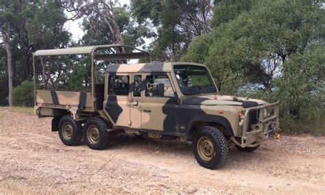 land rover australian perentie 110 and 6x6 all variants