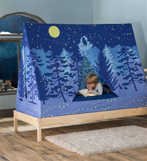 forest bed tent  selling gifts narrow  magiccabin