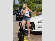 Strictly Come Dancing's Ola Jordan's gets wet and steamy