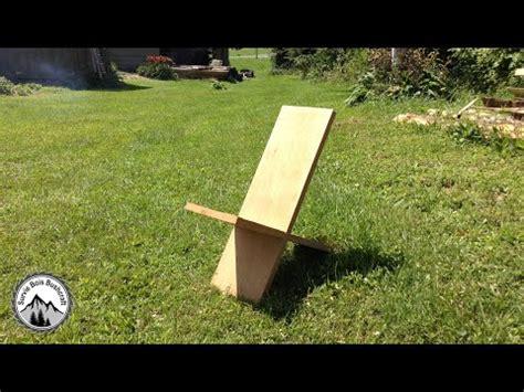 chaise longue en palette bois comment construire une chaise de viking en bois