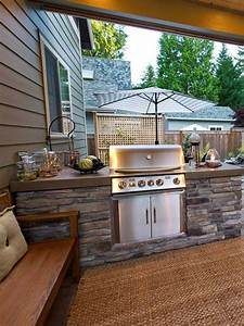 Adding, A, Barbecue, Grill, Area, To, Summer, Yard, Or, Patio