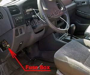 Fuse Box Diagram  U0026gt  Isuzu Rodeo    Amigo  1998
