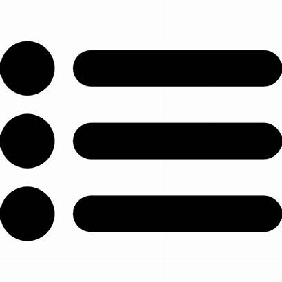 Icon Symbol Dots Items Three Icons