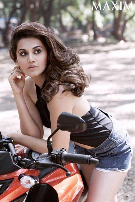 beautiful actress shooting kiss acress taapsee pannu maxim hot photo shoot ultra hd photos
