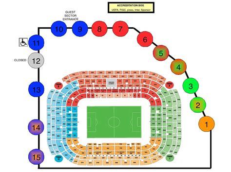 Stadio San Siro Ingresso 7 parcheggi auto stadio san siro stagione 2012 2013