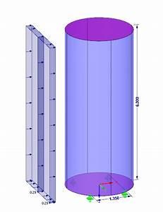 Kalkulationsfaktor Berechnen : loading according to en 1991 1 4 and safety against overturning of circular cylinders dlubal ~ Themetempest.com Abrechnung