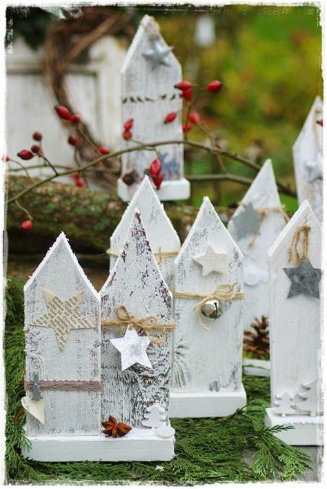 dekoration aus holz fuer weihnachten diy