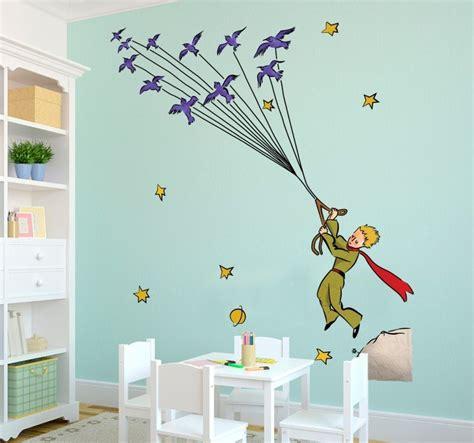 les chambres bebe sticker petit prince couleurs tenstickers