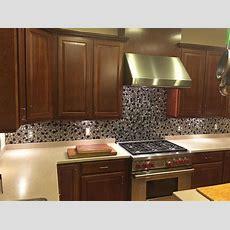 Stainless Steel Backsplash & Metal Mosaic Tile