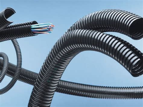 Resistant Pvc Corrugated Pipes High Density