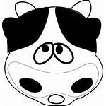Cow Clip Clipart Face Head Smile Smiling