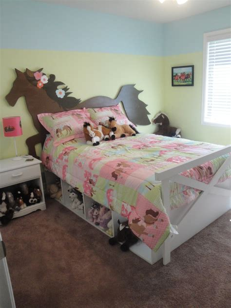 easy horse themed bedroom ideas  horse crazy kids