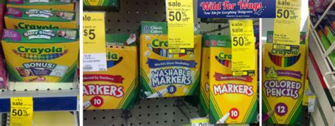 Crayola Overlapping Sale + Clearance