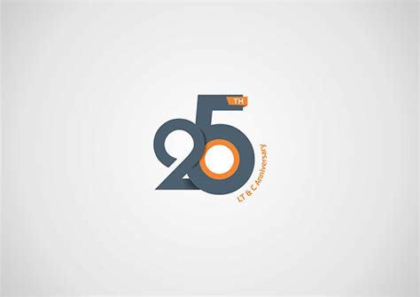 25th Anniversary Logo Design On Behance