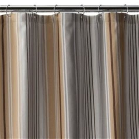 gray and brown shower curtain fieldcrest luxury multi stripe shower curtain brown gray