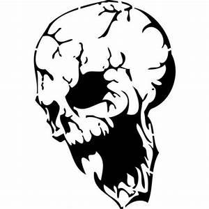 Demonic, Skull, Stencils