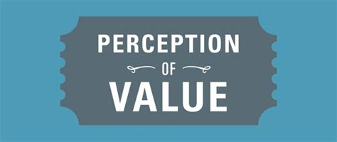 Ecommerce Eye Candy - Perception of Value [Infographic ...