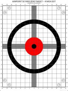 printable targets for iron sights thread improved ar15 zero targets for iron sights and