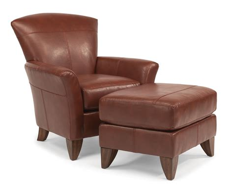 Flexsteel Accents Jupiter Chair And Ottoman Set