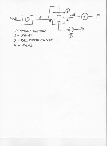 Relay Wiring Help Needed Please Electric Fans Mgb