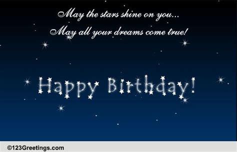 stars shine    happy birthday ecards greeting cards