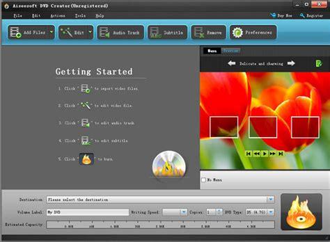 burn dvd  edit dvd menu  windows