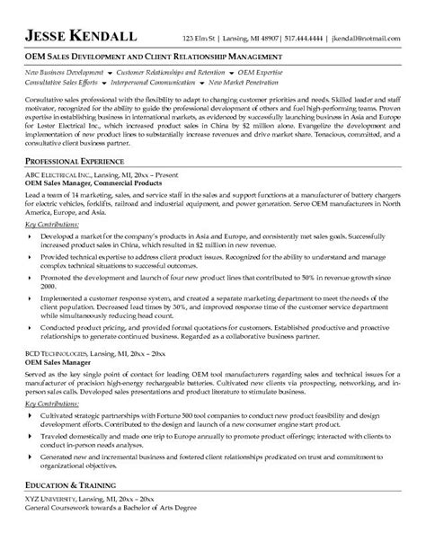 regional sales manager resume sle 28 images september