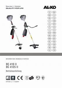 Comment Changer Le Fil D Une Débroussailleuse : mode d 39 emploi al ko bc4125 d broussailleuse trouver une ~ Dailycaller-alerts.com Idées de Décoration