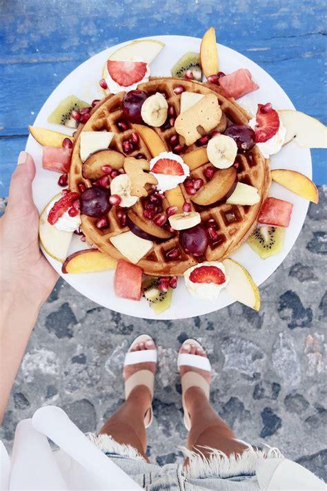 Monday Update 25 T R A V E L Yummy Food Food Waffles