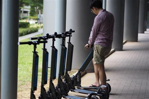 local start   launch singapores   scooter