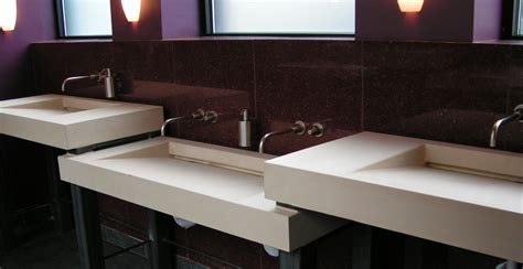Multi Level Concrete Sinks by Chris Becker   Concrete Exchange