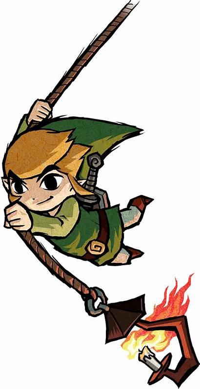 Zelda Waker Wind Link Legend Rope Characters
