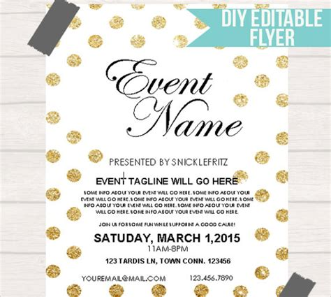 Free Event Flyer Templates by Event Flyer Template 21 In Vector Eps Psd