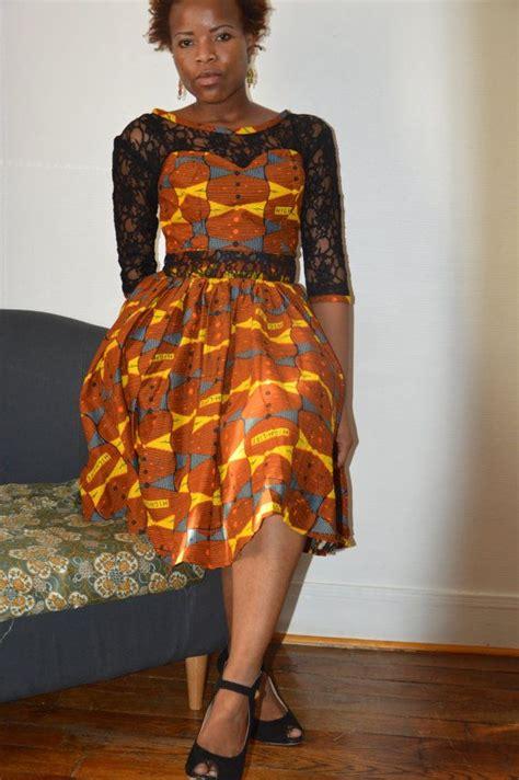 Robe Pagne Africain Modele Robe Pagne Ivoirien