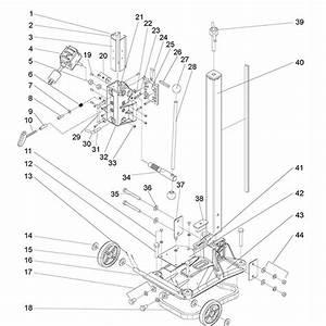 Norton Dr520 Core Drill Parts