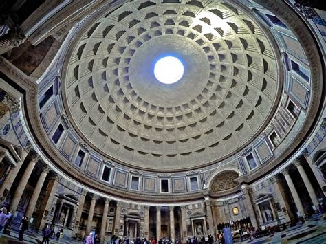 The Pantheon dome - Hillfamily dot net