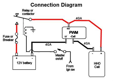Hho Pwm Circuit Diagram For