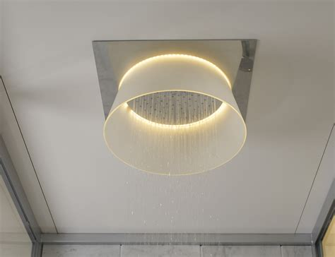 led ceiling mounted shower by toto 187 gadget flow