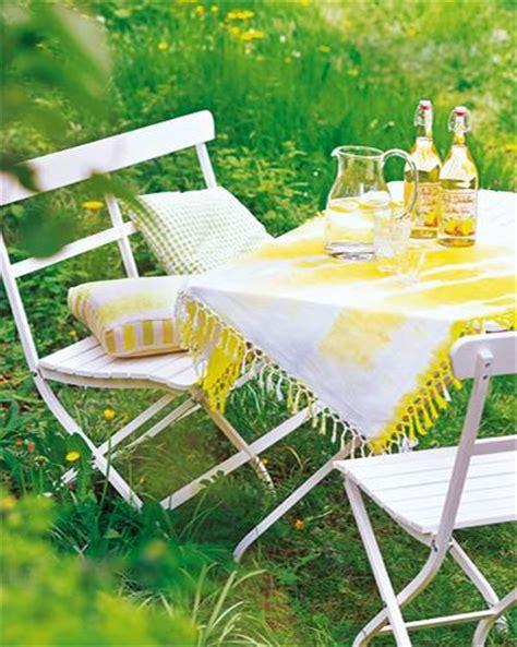 Tischdecke Selber Machen by Kreativ Gartendeko Selber Machen Brigitte De