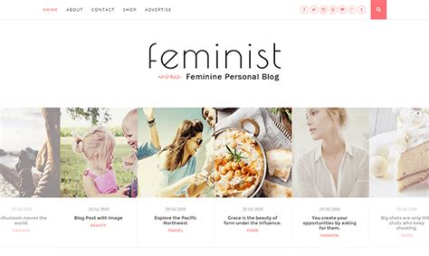 feminist blogger template blogger templates gallery