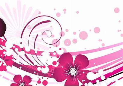 Vector Flower Pink Floral Graphic Background Newdesignfile