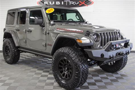 2019 Jeep Wrangler Rubicon Unlimited Jl Sting Gray