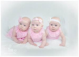 6 Month Old Triplet Girls – Indianapolis Child Photography ...